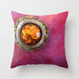 Hidden Tin Throw Pillow