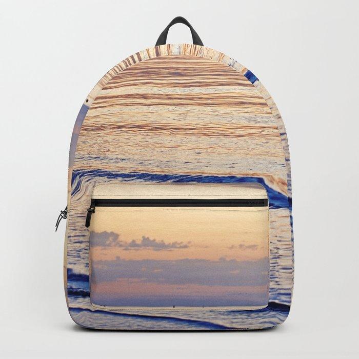 Sunset on the Horizon V Backpack