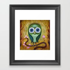 Day Owl Framed Art Print