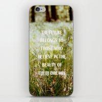 future iPhone & iPod Skins featuring Future by Nina Sinitskaya