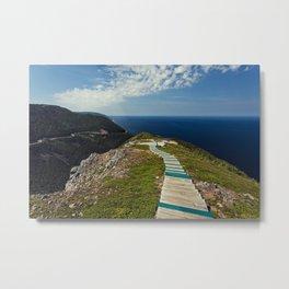 skyline walkway Metal Print