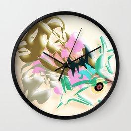 C.R.A.Z.Y. Wall Clock