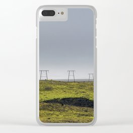 Endless Power Clear iPhone Case
