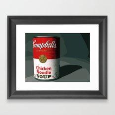 Campbells Framed Art Print