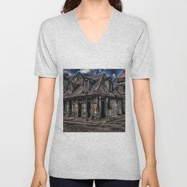 Lafitte's Blacksmith Shop Unisex V-Neck