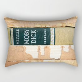 Moby Dick (or The Whale)  Rectangular Pillow