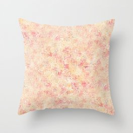 Spattered Sunshine Throw Pillow