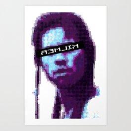 Madmartigan, Cyborg Warrior Art Print