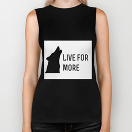 Live for More - Red Rising Biker Tank