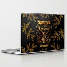 Thousand Lives - gold Laptop & iPad Skin
