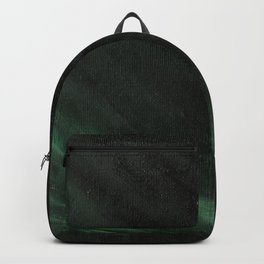 Black & Green Backpack