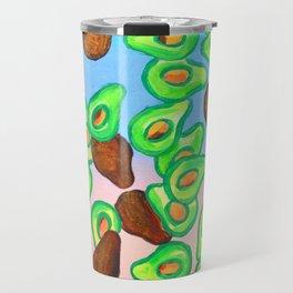 California Avocados Travel Mug