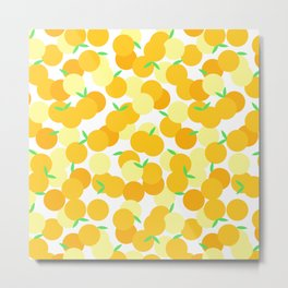 Bunches of Oranges Metal Print