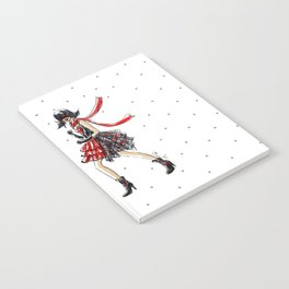Ladybug and Cat Noir Inspired Fashion Illustration Notebook