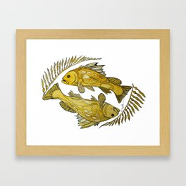 Stylefish Calico Bass Framed Art Print