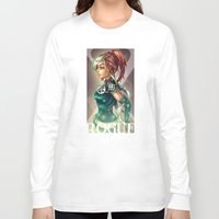 rogue Long Sleeve T-shirts featuring ROGUE by Tim Shumate