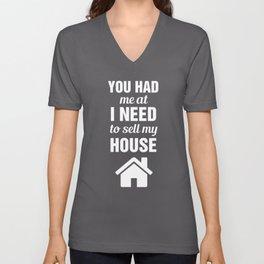 3269414b Real Estate V Neck T Shirts | Society6