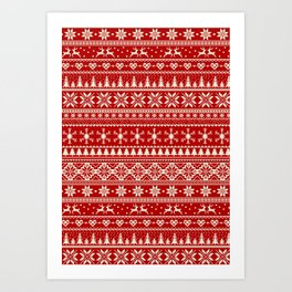 Christmas Jumper Art Print