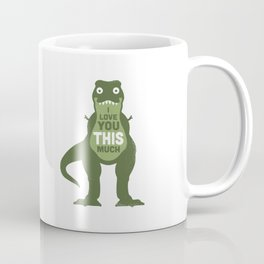 Amourosaurus Coffee Mug