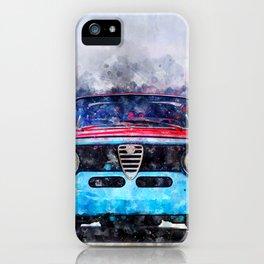 Alfa Giulia Sprint GTA iPhone Case