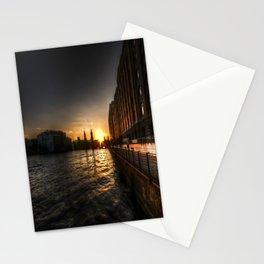 Oberbaumbrücke Sunset Stationery Cards