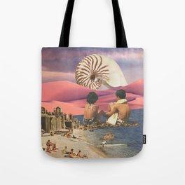 Shell Beach Tote Bag