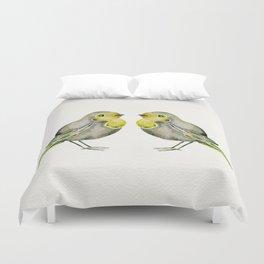 Little Yellow Birds Duvet Cover