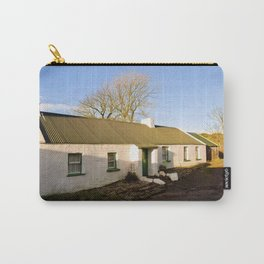 Old Irish Cottage Carry-All Pouch