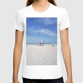 USA lifeguard tower T-shirt