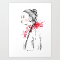 Braid Art Print