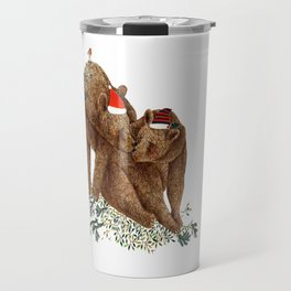 christmas bears Travel Mug