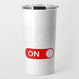 Beast Mode Activated Travel Mug