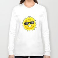 sunglasses Long Sleeve T-shirts featuring sunglasses on by Li-Bro