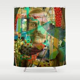 Hardened Hero Shower Curtain