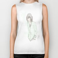 bleach Biker Tanks featuring Bleach: Ulquiorra by JaneSheep