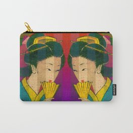 2 Geishas Carry-All Pouch