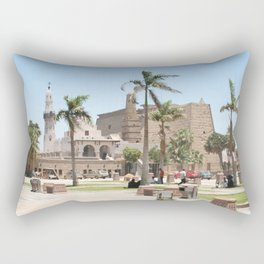 Temple of Luxor, no. 16 Rectangular Pillow