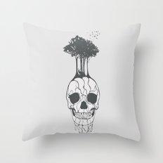Fossil Throw Pillow