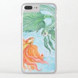 Betta Dance Clear iPhone Case