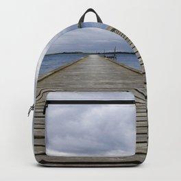 Middelfart, Denmark, pier by the water Backpack