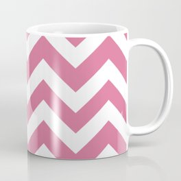 Pale red-violet - violet color - Zigzag Chevron Pattern Coffee Mug