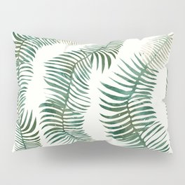 tropical leves wild Pillow Sham