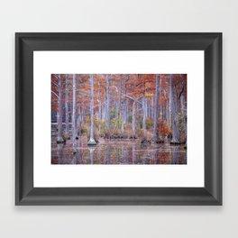 Adams Mill Pond 13 Framed Art Print