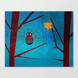 Spinne Canvas Print