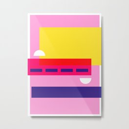 Bright Abstract I Metal Print