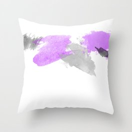 A spash of color Throw Pillow