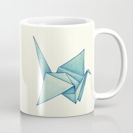 High Hopes | Origami Crane Coffee Mug