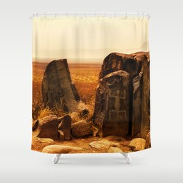 Tularosa view Shower Curtain