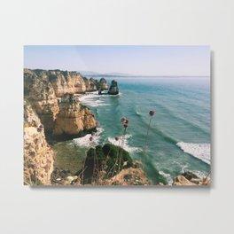 Algarve coast Metal Print