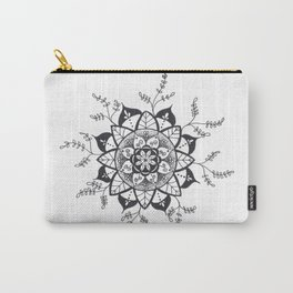 Mandala in Nature Carry-All Pouch